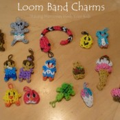Loom Band Charms (Rainbow Loom Band Charms)