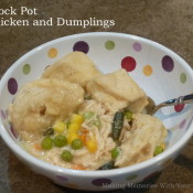 Crock Pot Chicken and Dumplings (Slow Cooker)