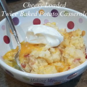 Cheesy Loaded Twice Baked Potato Casserole