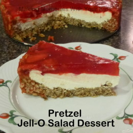 Pretzel Jell-O Salad Dessert {Secret Recipe Club}