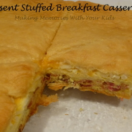 Cresent Stuffed Breakfast Casserole