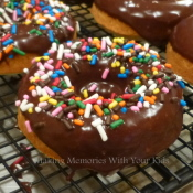 Baked Donuts with Chocolate or Maple Glaze - TO DIE FOR