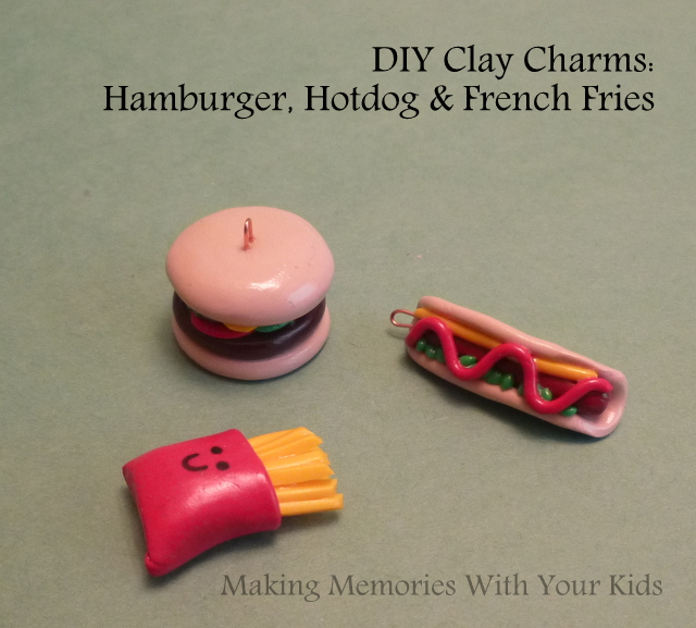 DIY Polymere Clay Charms