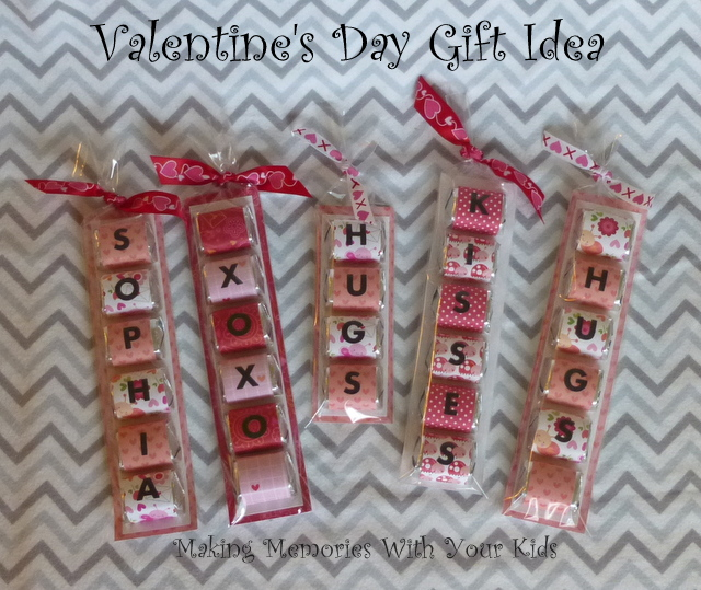 Valentineu0027s Day Gift Idea   Hershey Nugget Chocolates Wrappers