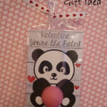 EOS Panda Valentine's Day Gift Idea with Free Printable