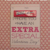 EXTRA Special Valentine's Day Gift Idea with Printable