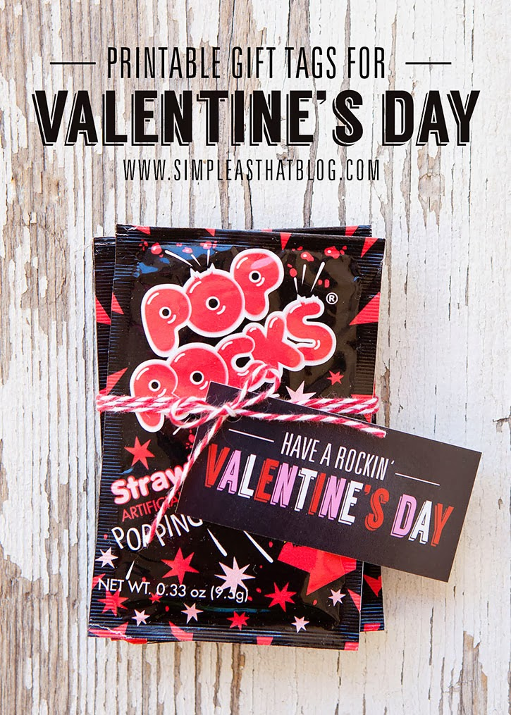 Have a Rockin' Valentine's Day Gift Idea with Free Printable