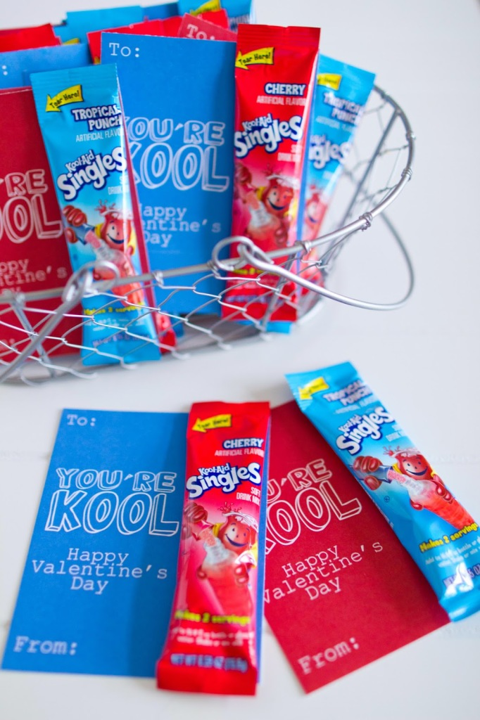 You're KOOL Valentine Gift Idea with Free Printable