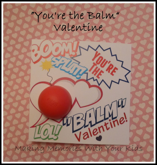 graphic relating to You're the Balm Free Printable identified as Youre the Balm\