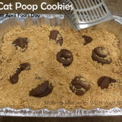 Cat Poop Cookies for April Fool's Day - Fun Food For Kids
