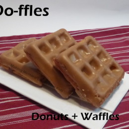 Homemade Do-ffles (Donuts plus Waffles)