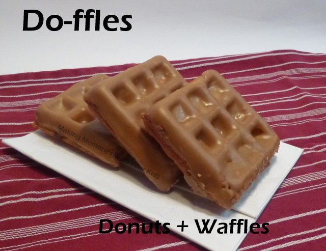 Donuts + Waffles = Do-ffles