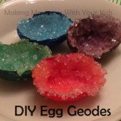 DIY Egg Geodes - Fun Science Project for Kids