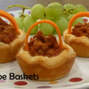 Sloppy Joe Baskets - Fun Food for Easter