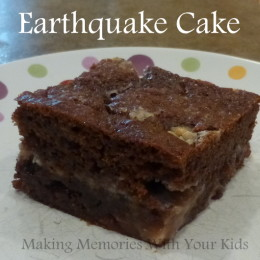 Earthquake Cake – A little Different