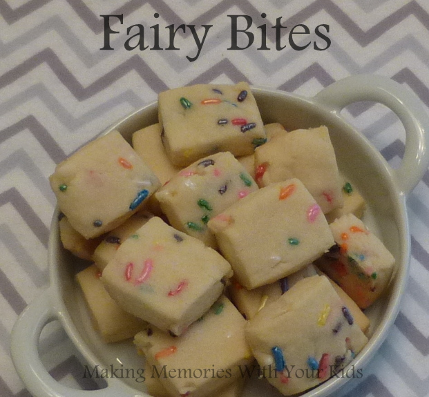 Fairy Bites - Shortbread Cookies with Sprinkles
