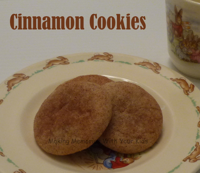 Soft and Chewy Cinnamon Cookies