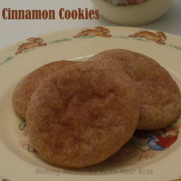 Cinnamon Cookies {Secret Recipe Club}