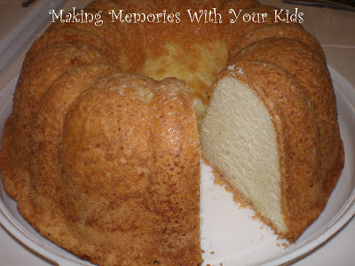 Grandmother Paul's Sour Cream Pound Cake