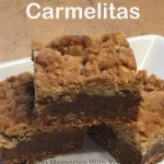 Carmelitas - Chocolate, Caramel, Oatmeal Bars