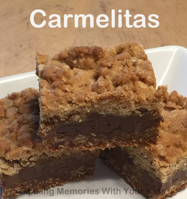 Carmelitas {Secret Recipe Club} - Making Memories With Your Kids