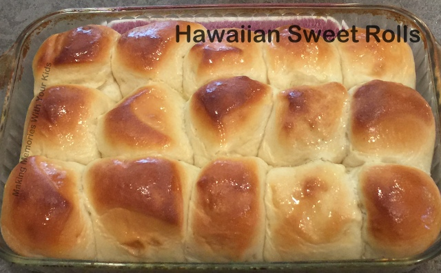 Copycat Hawaiian Sweet Rolls Recipe - Bread Machine