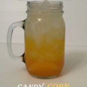 Candy Corn Punch - Fun Layered Halloween Punch
