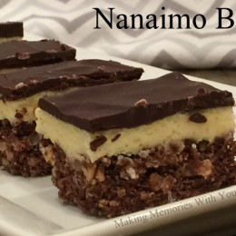 Nanaimo Bars {Secret Recipe Club Holiday Treats}