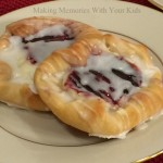 Homemade Raspberry and Cream Cheese Danish