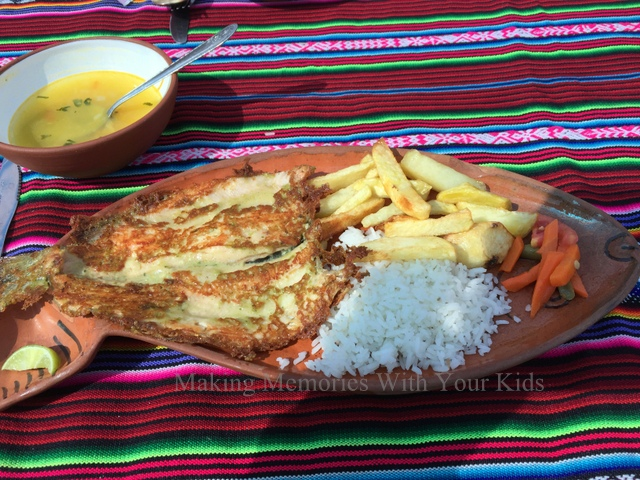 Fried Trout - Lake Titicaca, Peru