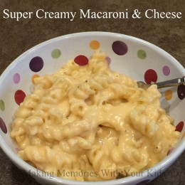 Super Creamy Macaroni and Cheese {Secret Recipe Club}