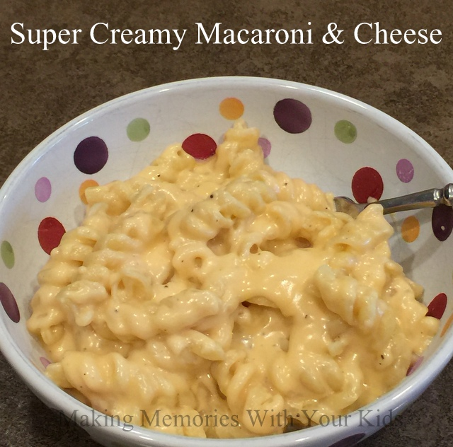 Super Creamy Macaroni and Cheese