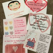 Valentine's Day Lunch Box Notes and Jokes with Free Printable