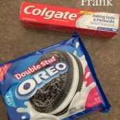 Toothpaste Oreos - Fun April Fool's Day Prank