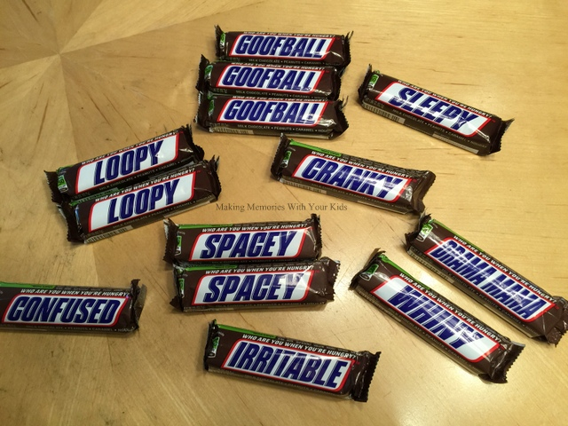 Snickers Candy Bar Gift Idea {Classified Employees Week ...