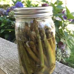 Pickled Asparagus {Secret Recipe Club}