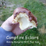 Campfire Eclairs - Camping Food