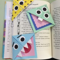 DIY Corner Bookmark