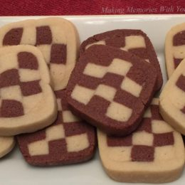 Checkerboard Cookies {Secret Recipe Club}
