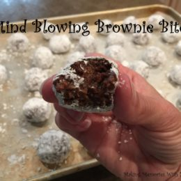 Mind Blowing Brownie Bites