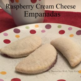 Raspberry Cream Cheese Empanadas {Secret Recipe Club}