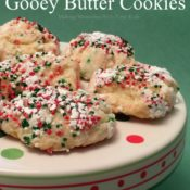 Christmas Gooey Butter Cookies