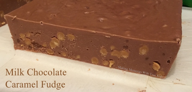 Milk Chocolate Caramel Fudge