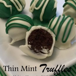 Thin Mint Truffles #FillTheCookieJar