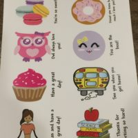 Cute Lunch Box Notes for Kids