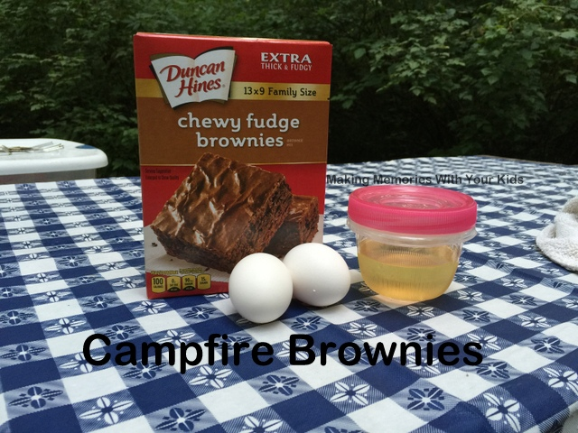 Campfire Brownies