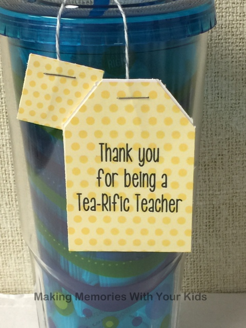 Tea-riffic Teacher Gift Idea