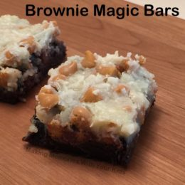Brownie Magic Bars
