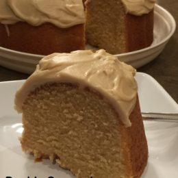 Double Caramel Pound Cake
