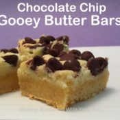 Paula Deen's Chocolate Chip Gooey Butter Bars